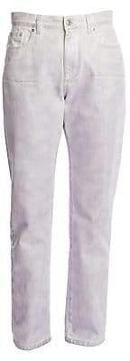 MSGM Women's Iridescent Straight-Leg Jeans