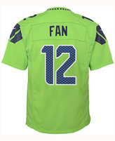 Nike Boys' Fan #12 Seattle Seahawks Color Rush Jersey