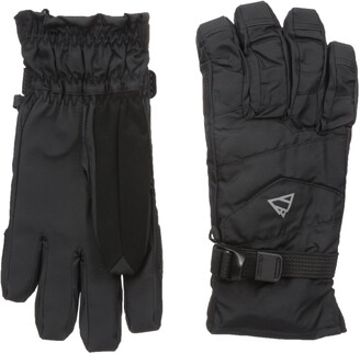 GII Men's 2-In-1 Ski Gloves with Thinsulate Insulation and Removable Fleece Liner