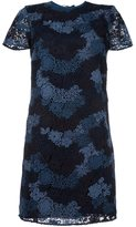 Burberry lace overlay dress - women - Silk/Cotton/Polyester - 10