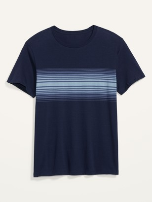 Old Navy Striped Soft-Washed Crew-Neck Tee for Men