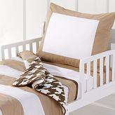 Bacati 4-pc. Metro Khaki Toddler Bedding Set