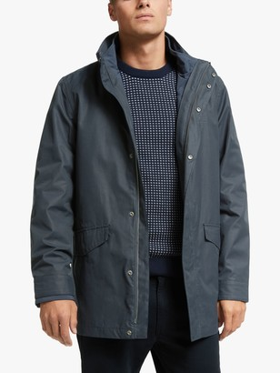 Gant 2 in 1 Concealeable Hood Jacket, Navy
