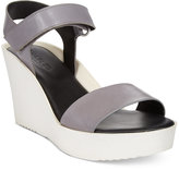 Charles by Charles David Camp Wedge Sandals