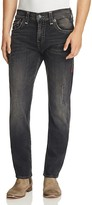 True Religion Geno Straight Fit Jeans in Dgfd Blk C