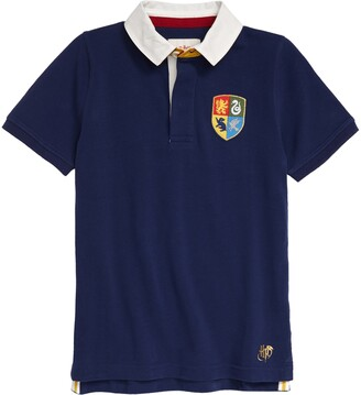 Boden x Harry Potter Hogwarts House Rugby Polo