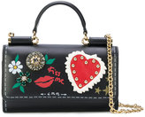Dolce & Gabbana mini Von bag with painted style details