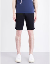 Armani Jeans Tailored Stretch-cotton Chino Shorts
