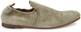 Bally Plank Suede Loafers