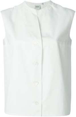 Aspesi sleeveless straight shirt
