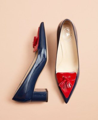 Brooks Brothers Patent Leather Loafer Pumps