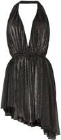 Saint Laurent asymmetric-hem dress