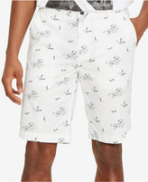 "Kenneth Cole Reaction Men's Tropical-Print 10.5"" Shorts"