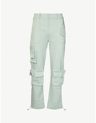 Pieces Uniques Trust tapered twill trousers