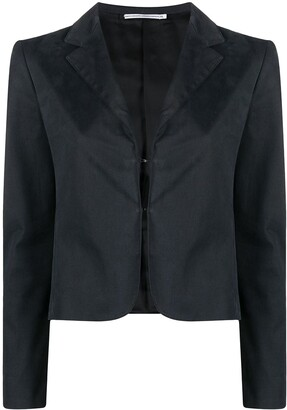 Fendi Pre-Owned 1990 Single-Breasted Cropped Jacket