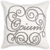 Jonathan Adler Opium Beaded Linen Throw Pillow