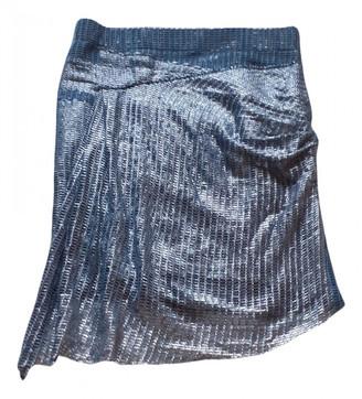 IRO Silver Polyester Skirts