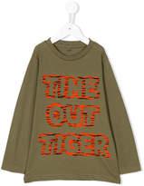 Stella McCartney Time Out Tiger print T-shirt
