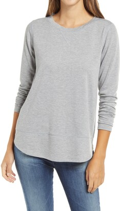 Gibson Shirttail Sweatshirt