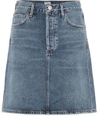 Citizens of Humanity Lorelle high-rise denim miniskirt