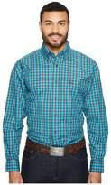 Wrangler George Strait Long Sleeve Plaid Men's Clothing