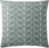 Orla Kiely Small Linear Stem Duck Egg Cushion