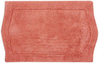 "Home Weavers Inc. Waterford Bath Rug 21""x34"" Coral"