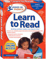 Simon & Schuster Level 2 Hooked On Phonics Learn To Read