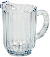 Rubbermaid Bouncer Table Ware-1.77 L Pitcher-Polycarbonate, Plastic-Dishwasher Safe-Clear-1 Piece(s) Each