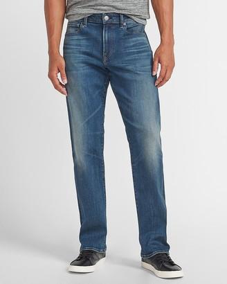 Express Bootcut Medium Wash Hyper Stretch Jeans