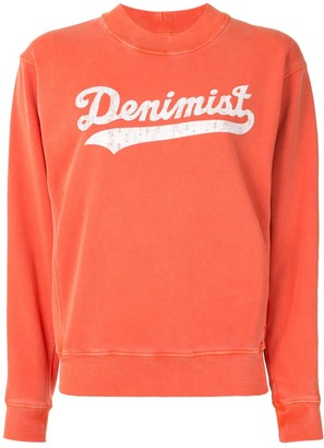 Denimist Faded Logo-Print Sweatshirt