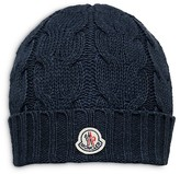 Moncler Boys' Cable Knit Beanie Hat