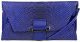 Kooba Ruby Convertible Leather Wallet, Cobalt