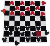"Ethan Allen | Disney Checkerboard Square Rug Set, 7'10"" x 7'10"""