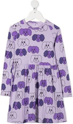 Mini Rodini Fluffy Dog Print Dress