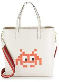 Anya Hindmarch Ebury Space Invader Tote