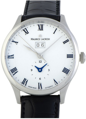Maurice Lacroix Men's Leather Watch