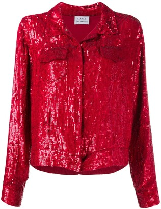 P.A.R.O.S.H. Gummy sequin jacket