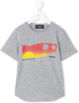 DSQUARED2 print T-shirt - kids - Cotton - 4 yrs