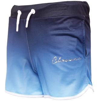 Closure London Junior Girls Fade Shorts Blue