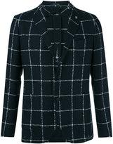Tagliatore checked blazer - men - Linen/Flax/Polyamide/Cupro - 46