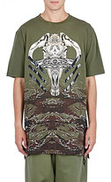 Marcelo Burlon County of Milan MEN'S CAMOUFLAGE T-SHIRT-GREEN SIZE S