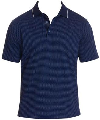 Robert Graham Northcliff Cotton Jacquard Polo Shirt