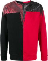 Marcelo Burlon County of Milan Paz printed sweatshirt - men - Cotton - S