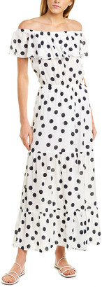 Three Dots Voile Maxi Dress