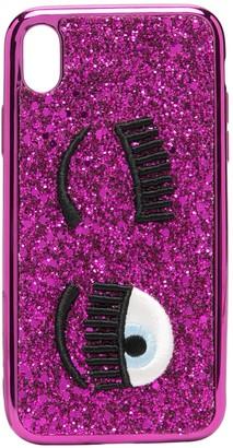 Chiara Ferragni Winking Eye iPhone XR case