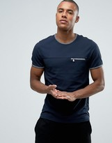Ted Baker T-Shirt with Zip Pocket