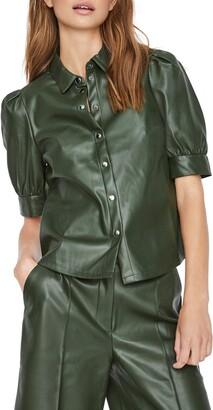 Vero Moda Paulina Snap Front Shirt