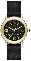 Marc Jacobs 'Riley' Leather Strap Watch, 28mm