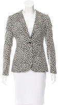 Rachel Zoe Patterned Fitted Blazer